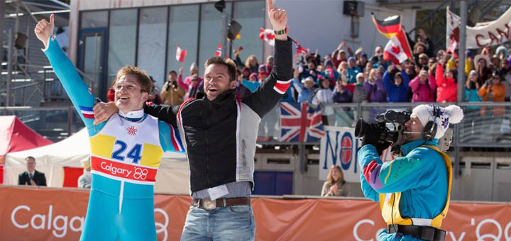 Review Eddie the Eagle, Motivasi tentang Optimisme