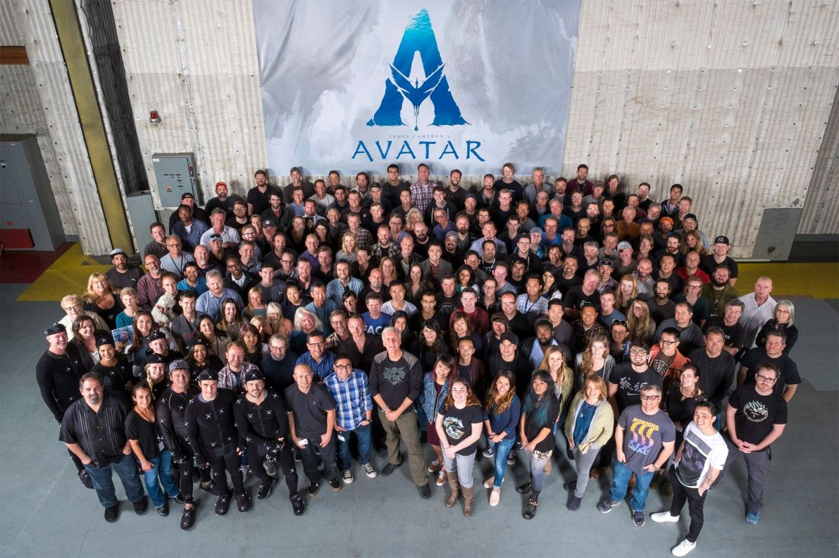 James Cameron bersama kru Avatar 2 (Comingsoon)